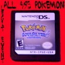 Pokemon Soulsilver LOADED with all 493 + Rare Events Shiny UNLOCKED CELEBI MEW