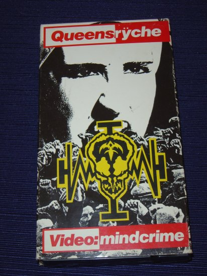 Queensryche Operation Mindcrime VHS
