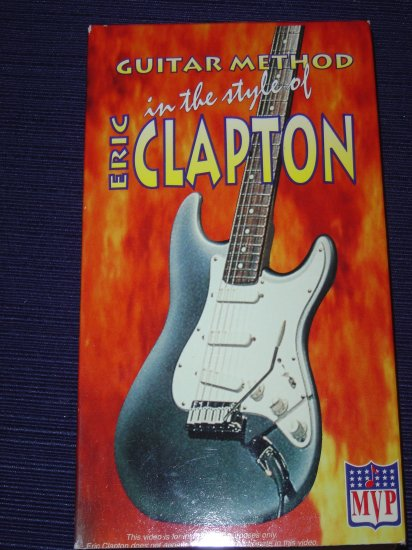 Eric Clapton - Guitar Method in the Style of...
