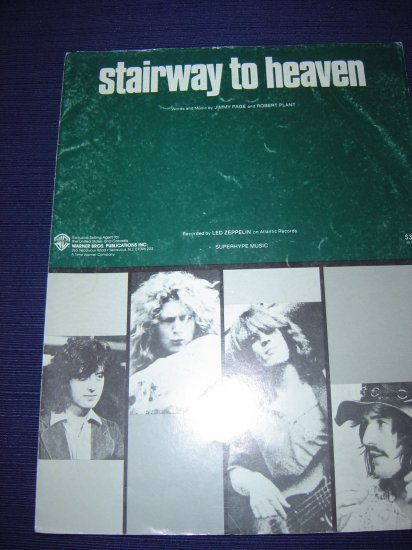 Stairway to Heaven musical score