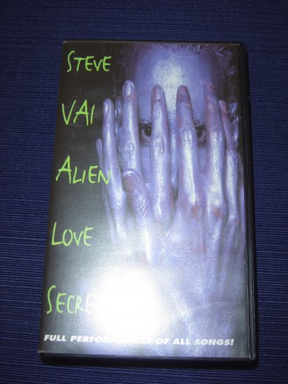 Steve Vai - Alien Love Secrets VHS