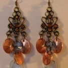 133(Inventory#) Vintage looking earrings multiple color