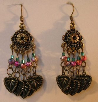 129(Inventory#) Vintage looking earrings