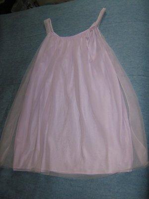 Lavender Babydoll Chiffon Nightie 1970s