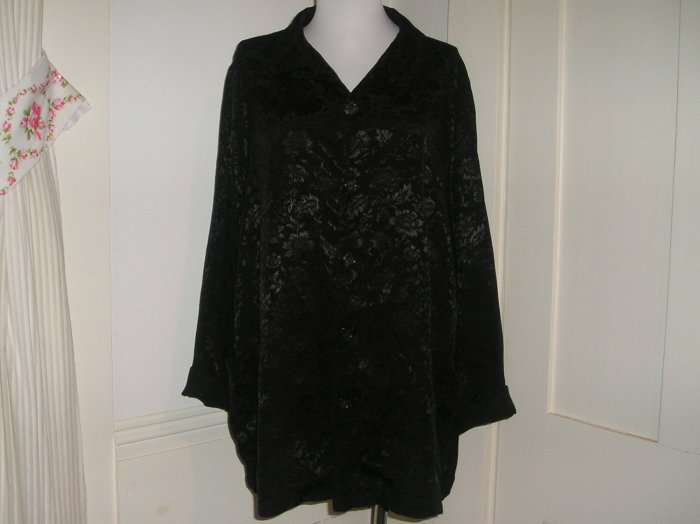 CP SHADES BLOUSE SIZE S SMALL JACKET BLAZER ARTSY ART UNIQUE EARTHY SIZE SMALL S