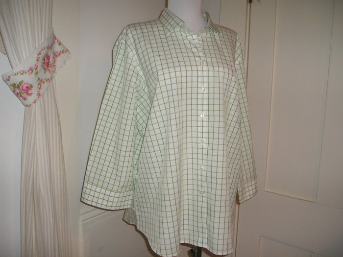 LANDS END BLOUSE, SHIRT TOP SIZE 18 PLUS