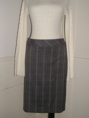 Pencil Skirt Size 9 Medium Stoosh Plaid Low Waist Artsy
