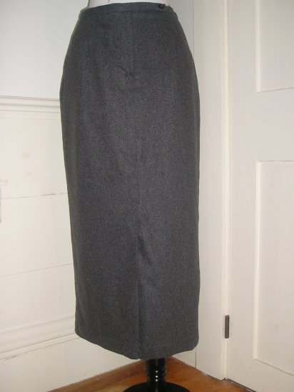 HARRIS/WALLACE PENCIL SKIRT SIZE 6P PETITE LONG