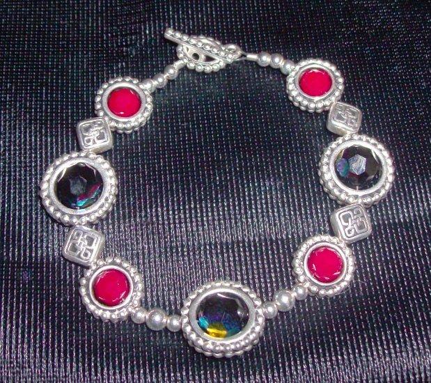 Pewter Framed Bracelet