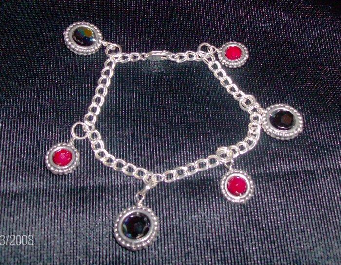 Framed Charm Bracelet