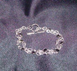 Swarovski Black/Crystal Channel Bracelet