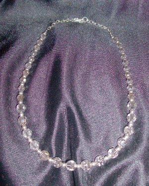Crystal Silver Swarovski Necklace