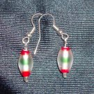 Multi-Color Glass Earrings