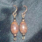 Vintage Semi-Precious Gemstone Earrings