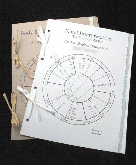 Astrology Natal Report: Deluxe