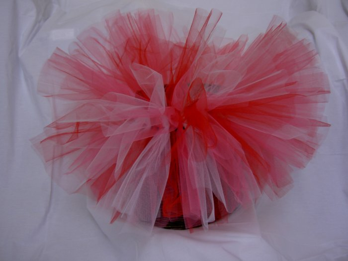 Red, White and Pink Tutu