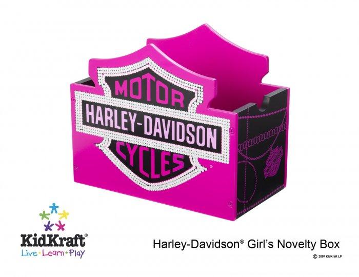 Harley Davidson Girls Novelty Box Item # 10150