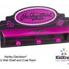 Harley Davidson Girls Wall Shelf Item # 10160