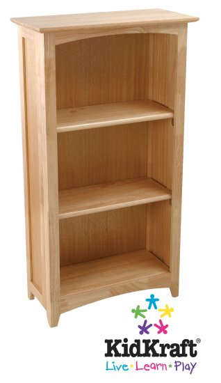 Avalon Tall Bookshelf - Natural Item # 14021