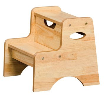 Two Step Stool - Natural Item #15511