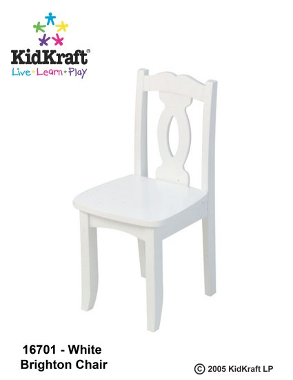 Brighton Chair - White Item # 16701