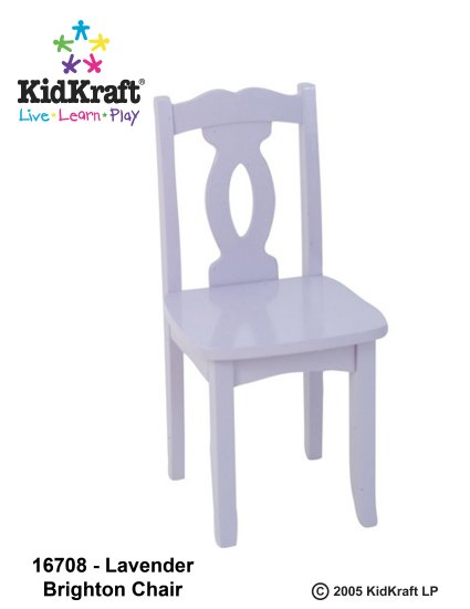 Brighton Chair - Lavender Item # 16708