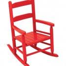 2-Slat Rocker - Red Item # 18102