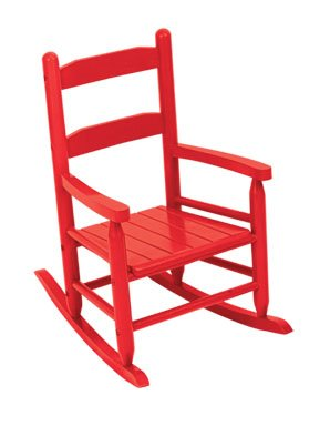 2-Slat Rocker - Red Item # 18102
