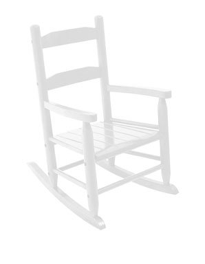 2-Slat Rocker - White Item # 18120