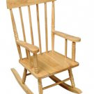 Spindle Rocker Chair - Natural Item # 18321