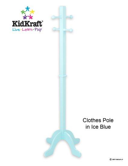 Clothes Pole - Ice Blue Item # 19230