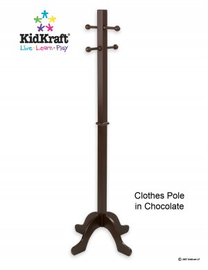 Clothes Pole - Chocolate Item # 19233