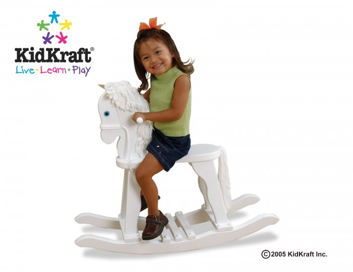 Derby Rocking Horse - White Item # 19601