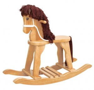 Derby Rocking Horse - Natural Item # 19621