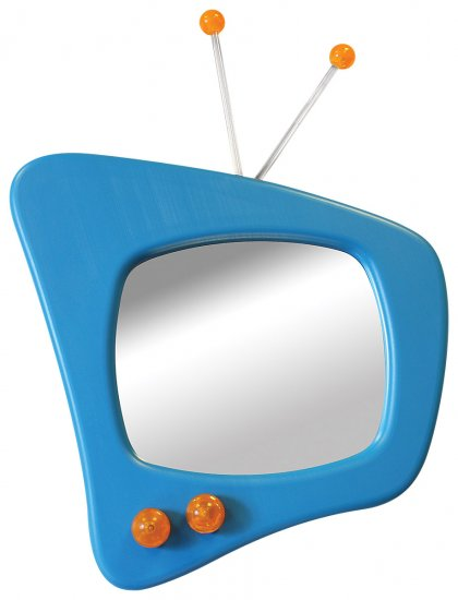 TV Mirror - Blue Item # LS-WM TV BU