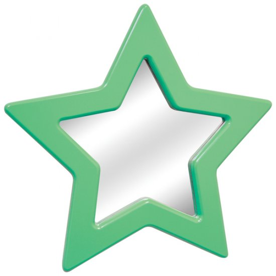 Star Mirror - Green Item # LS-WM STAR G