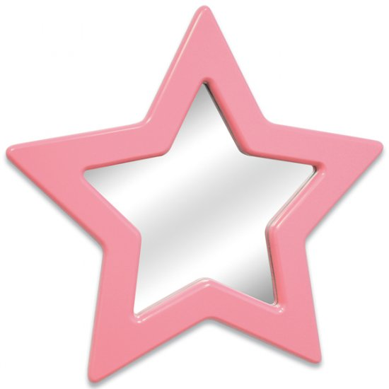 Star Mirror - Pink Item # LS-WM STAR PK