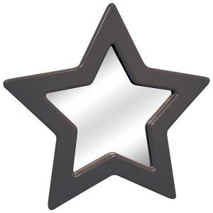 Star Mirror - Black Item # LS-WM STAR BK