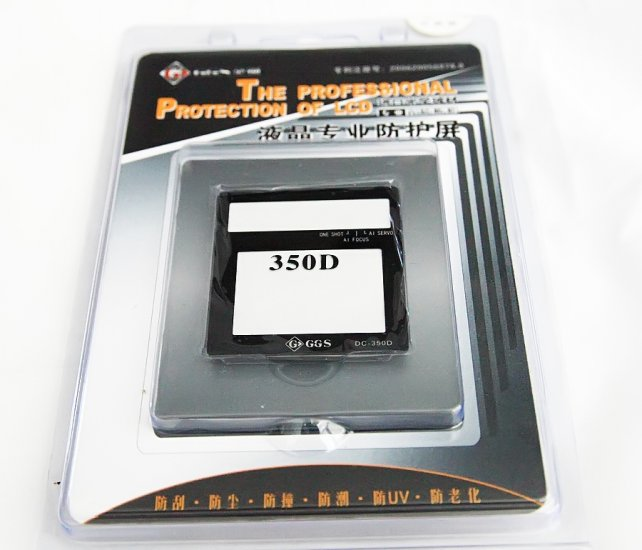 GGS LCD Protector for Rebel XT/350D