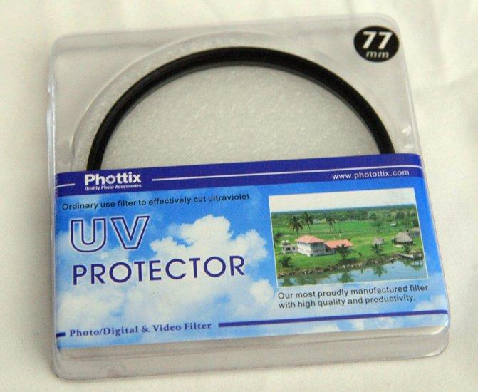 Phottix 77mm UV Filter - Standard