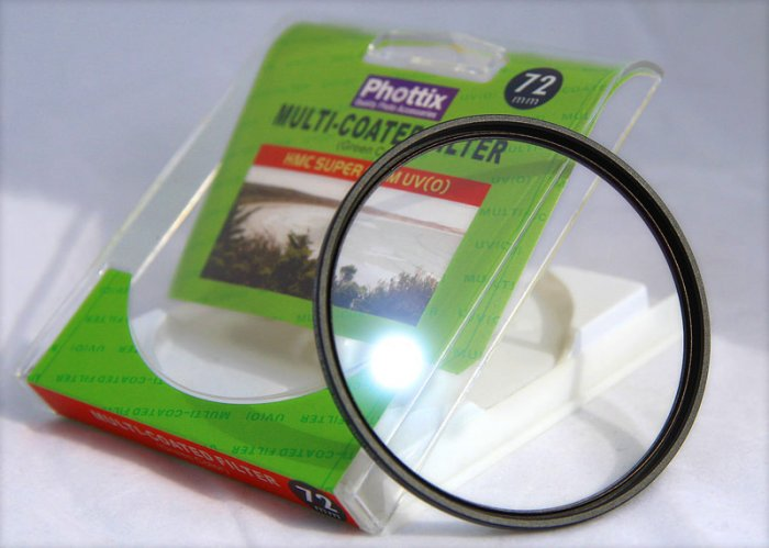 Phottix 72mm Multicoated Slim Pro HMC UV Filter