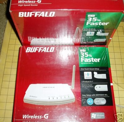 BUFFALO WHR-G125 Wireless Router DDWRT