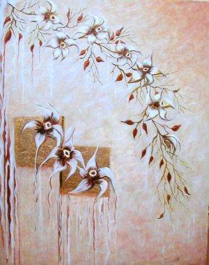 Copper Orchid Cascade