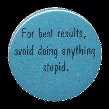 Avoid stupid button