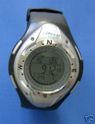 A-Tech Multifunctional Digital Sports Watch - Compass, Lap timer, Stopwatch, Alarm etc etc