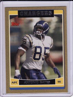 2006 Topps Antonio Gates Gold 0273/2006