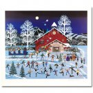 Moonlight Merriment is a LIMITED EDITION Offset Lithograph on paper by Jane Wooster Scott