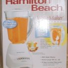 Hamilton Beach 50161WV 10-Speed Wave-Action Blender, White