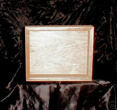 NEW Maple Wood Shadow Box 8 x10 For Your Keepsakes