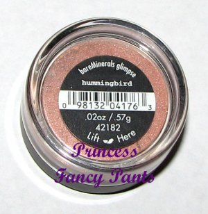 Bare Escentuals Minerals Eye Shadow Glimpse Hummingbird NEW